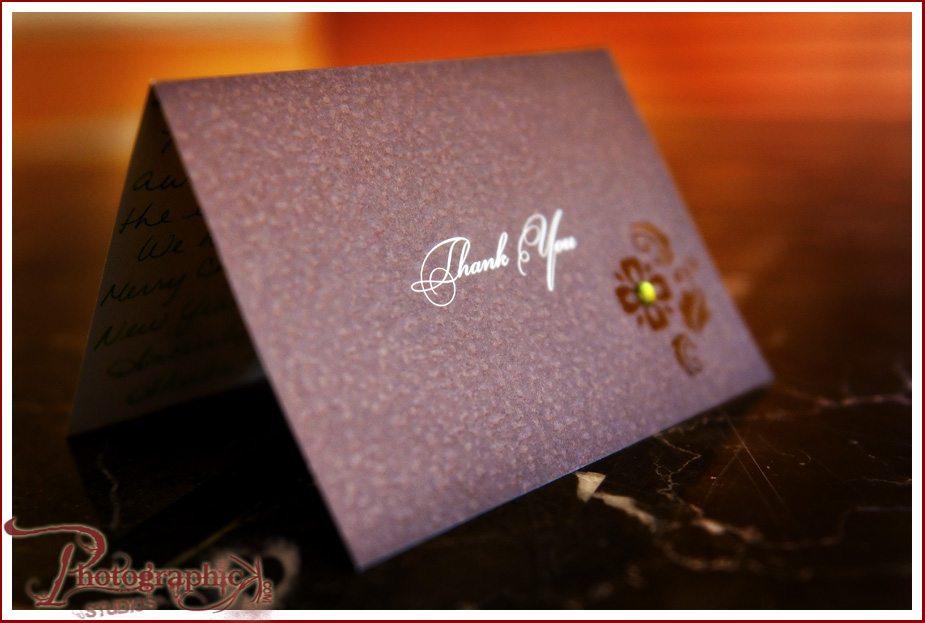 Thank you Card for Engagement Session