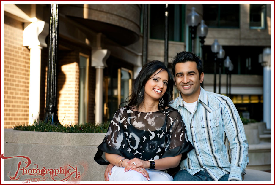 Anjali and Davinder Engagement Session Photos at Georgetown Waterfront