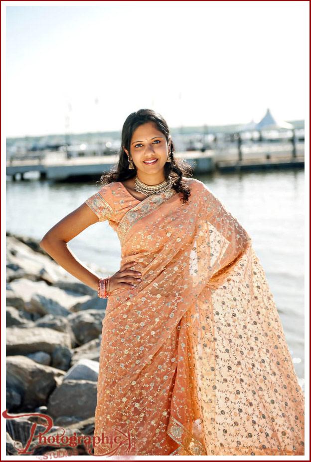 Preethi and Mani Engagement Shoot At The National Harbor