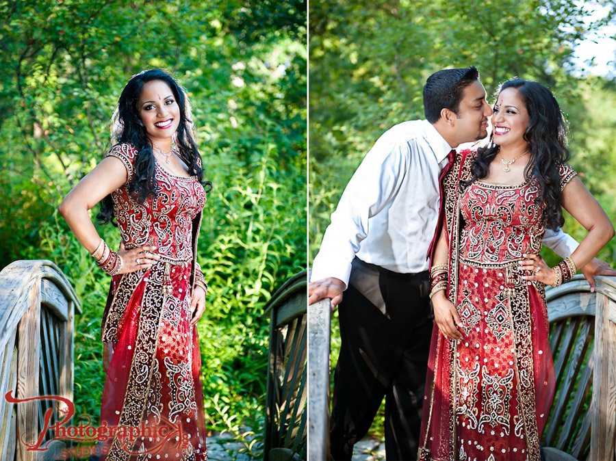 Seema and Sooraj's Engagement Session at Brookside Gardens, Maryland Photos