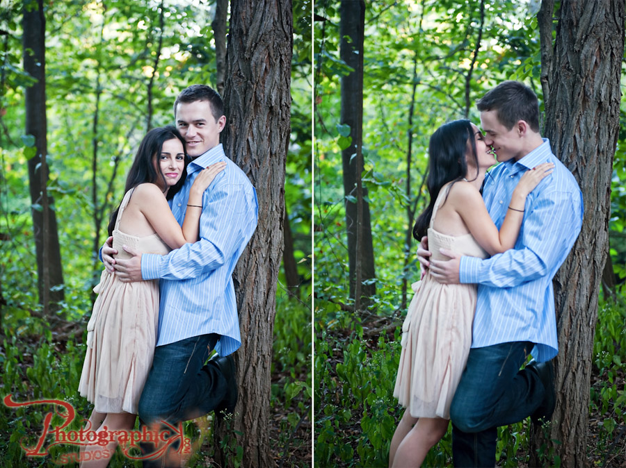 Tess and Bryan Engagement Session at Glen Echo Park Photos