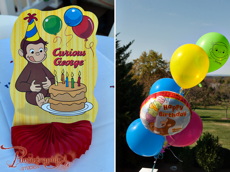 Aarav's First Birthday with Curious George