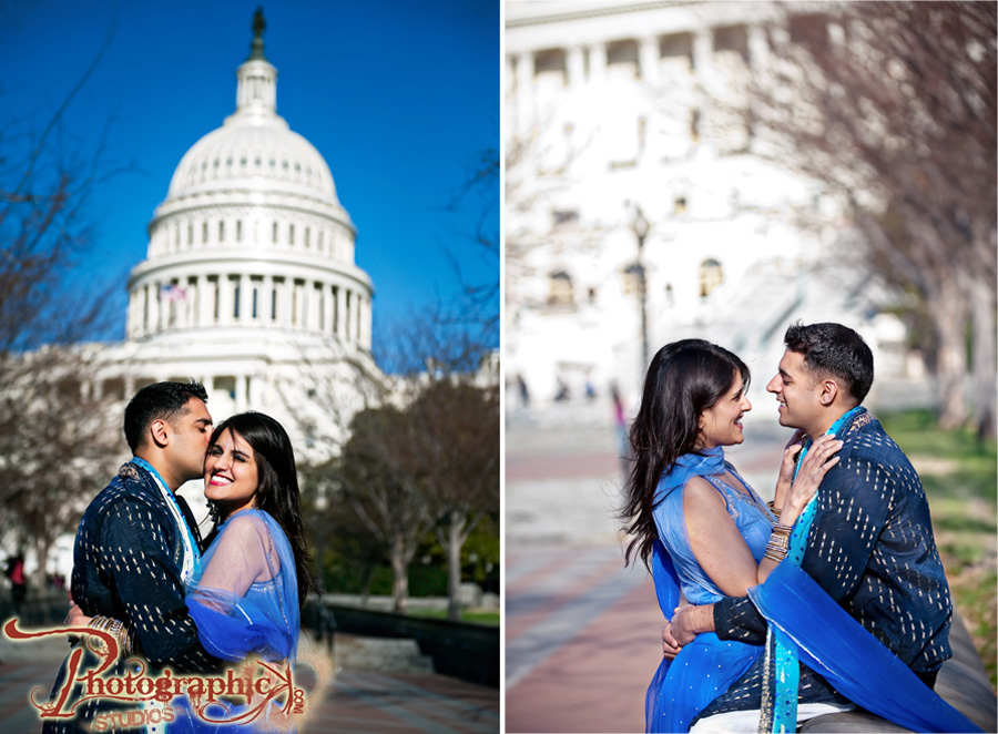 Washington DC Engagement Session of Joy and Kapil