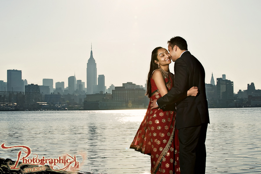 Surya And Prithvi Engagement Session in New York City