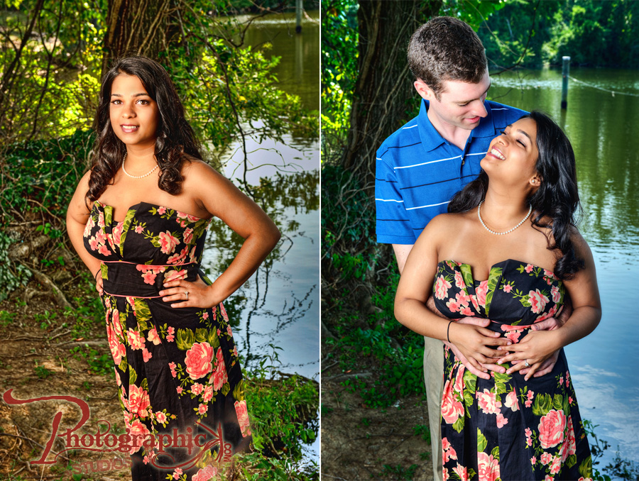 Melissa and Carl Engagement Session in Alexandria, VA