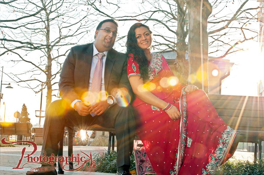 Washington DC Engagement Session of Priya and Rohit