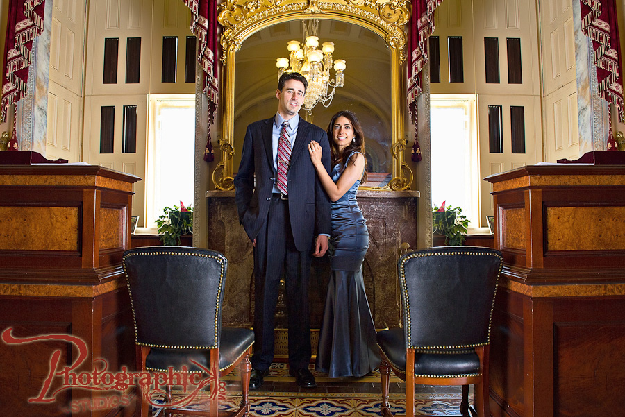 Washington DC Engagement Shoot in Georgetown and at the US Capitol