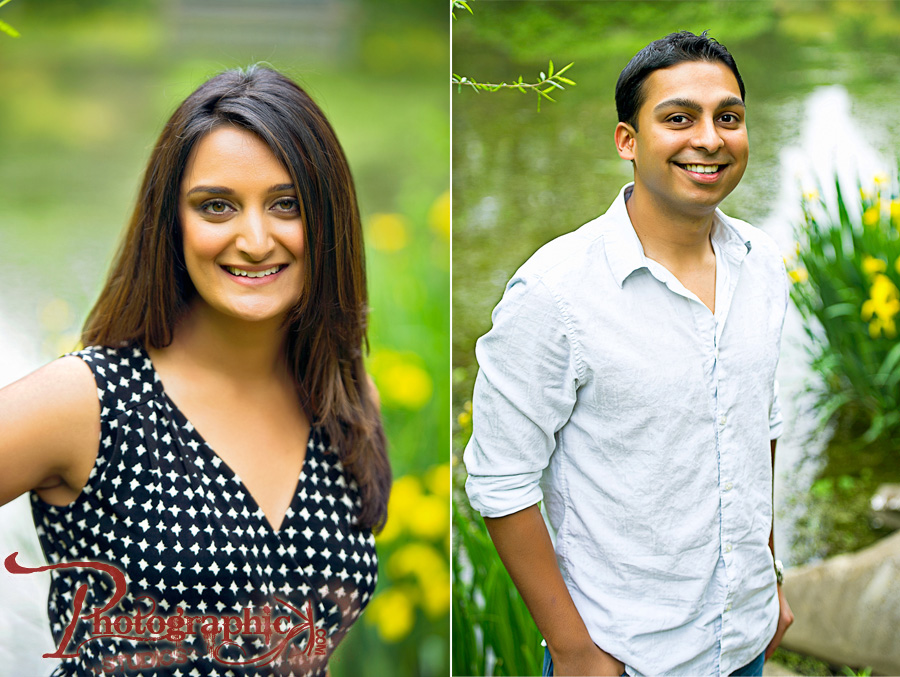 Engagement Session of Jalpa and Gaine at Brookside Gardens