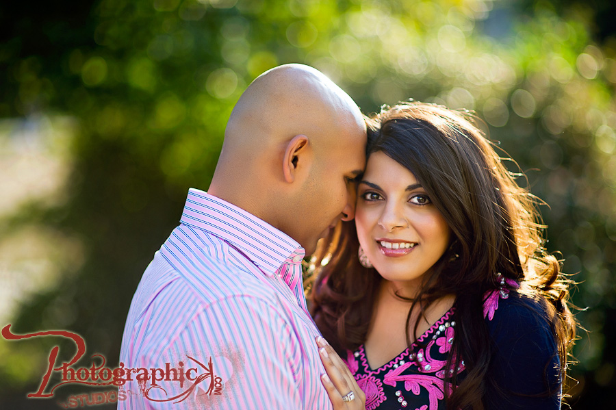 Meridian Hill Park Engagement Session of Anjali and Gaurav