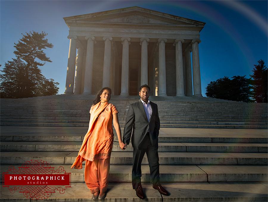 Jefferson Memorial Engagement Session