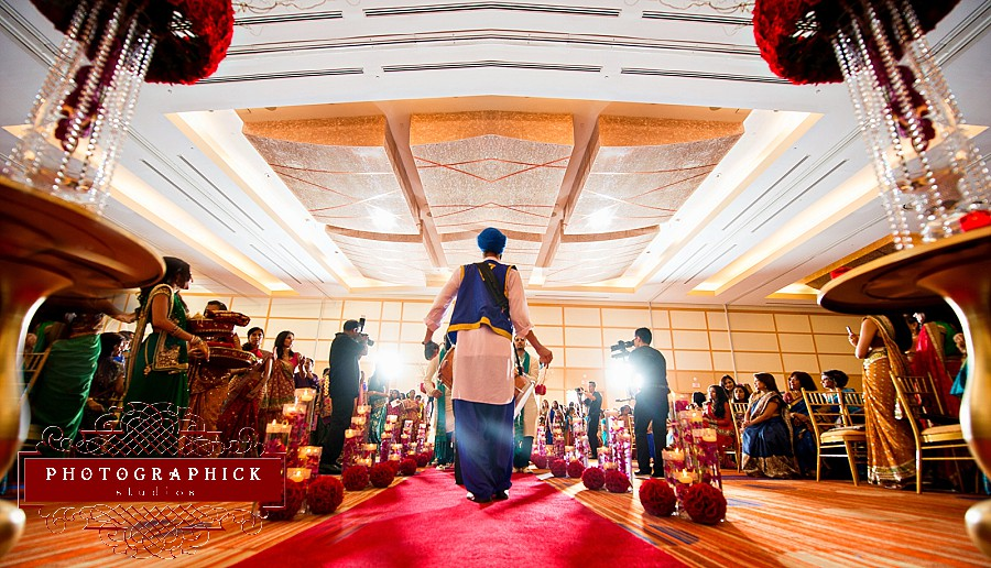 Dhol Player in Indian Wedding