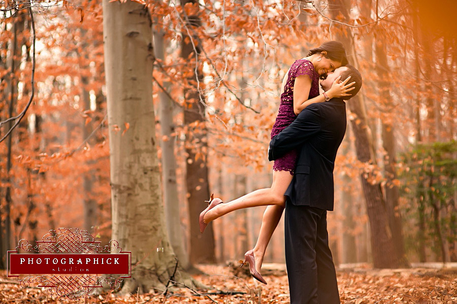 Rock Creek Park Engagement Session