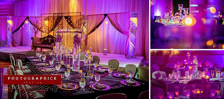 Partyland Flowers reception decor