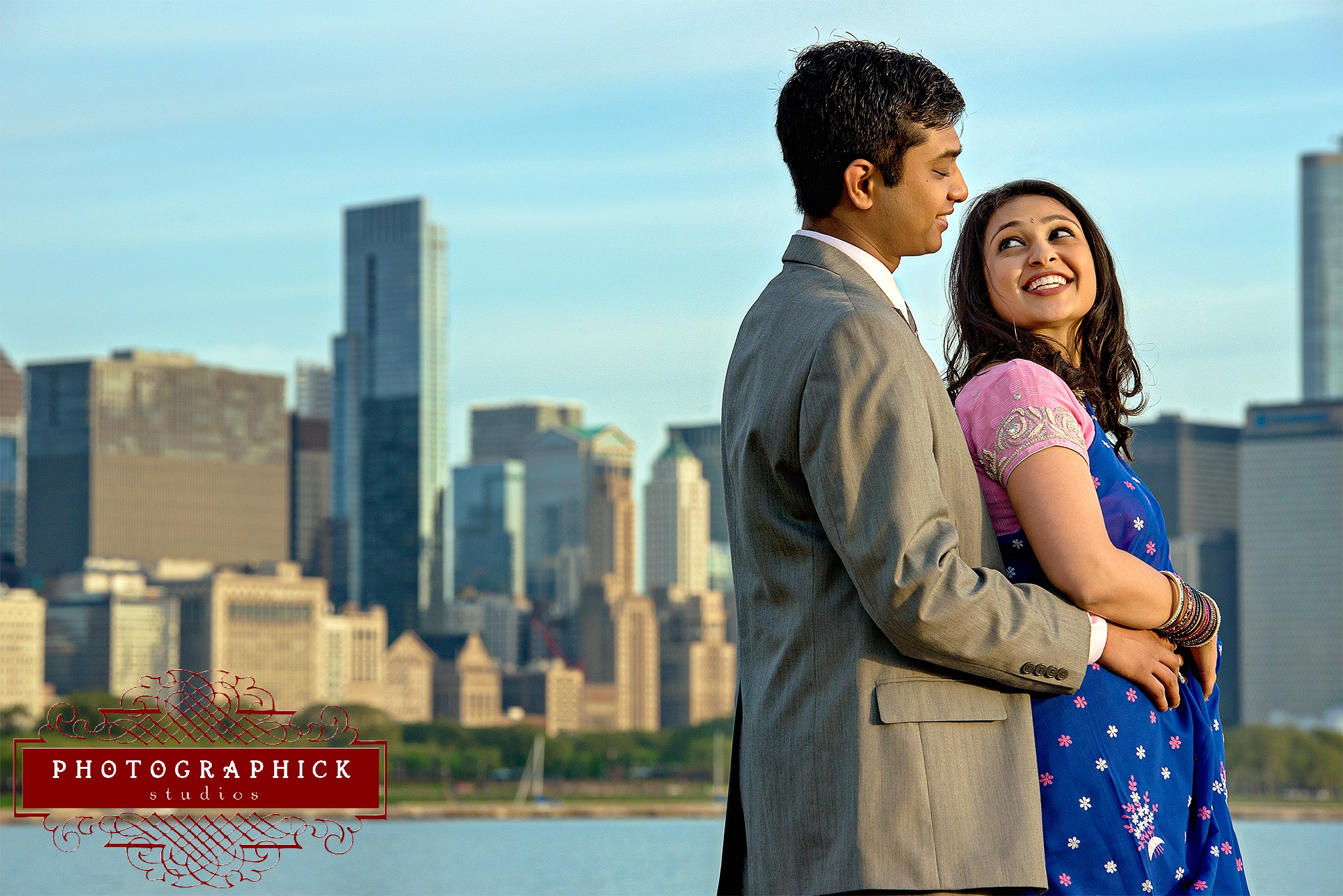 Chicago Indian Engagement Session