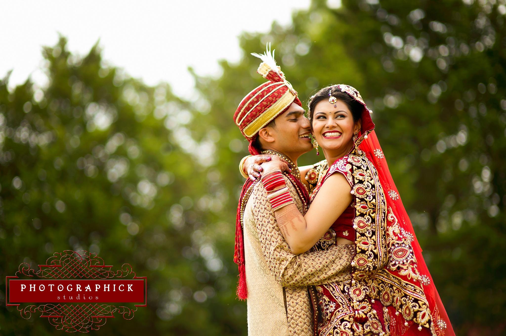 Washington DC Indian Wedding Couple