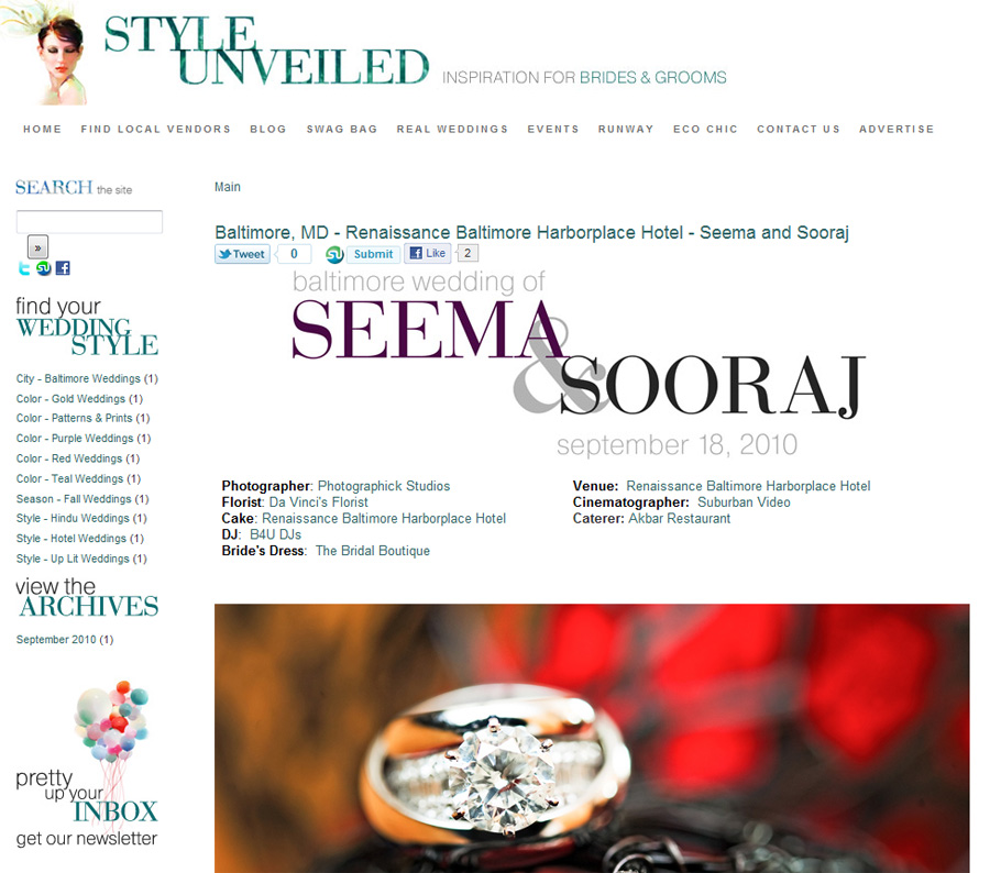 Published Wedding - Seema and Sooraj