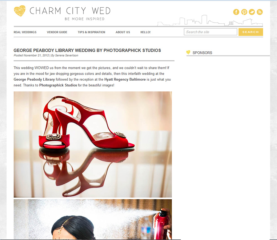 Published on Charm City Wed