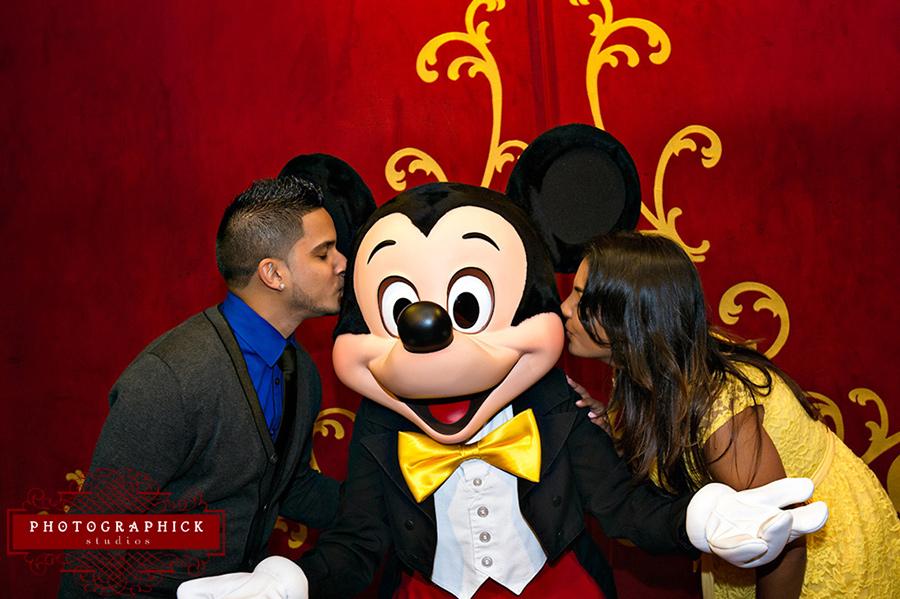 Disney World Engagement Session